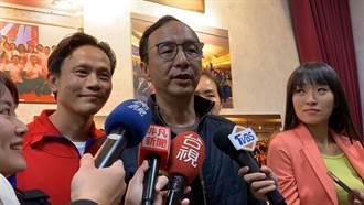 韓辦提告黃國昌亂爆料 朱立倫:司法是個好方法