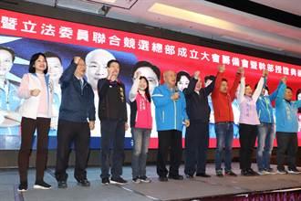 吳伯雄、林豐正出席新北競總籌備會 宣誓藍營大團結