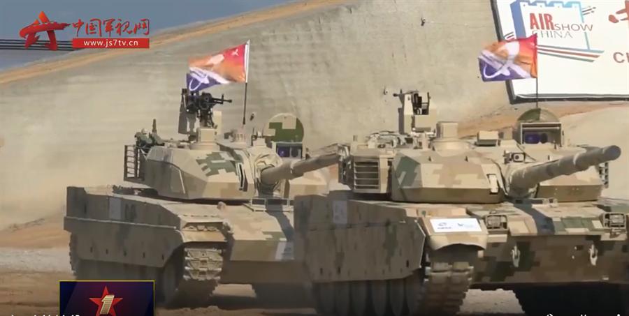 中國大陸自製的VT5坦克(見圖)已打開外銷市場。(中國軍視)