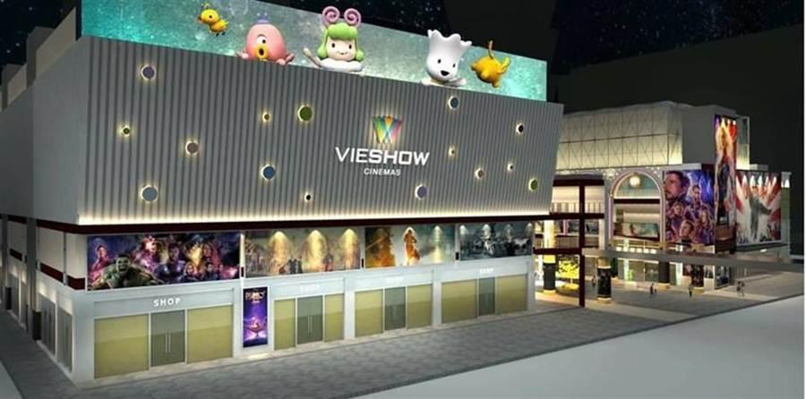 信義威秀以主題娛樂城創新亮點。圖/業者提供