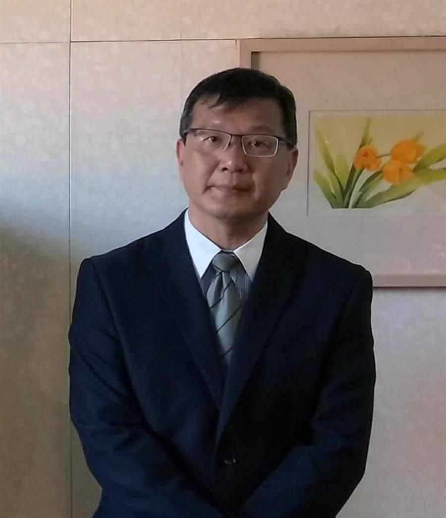 臺南大學綠色能源科技學系與太陽能源人才培育中心主任傅耀賢。(洪榮志攝)
