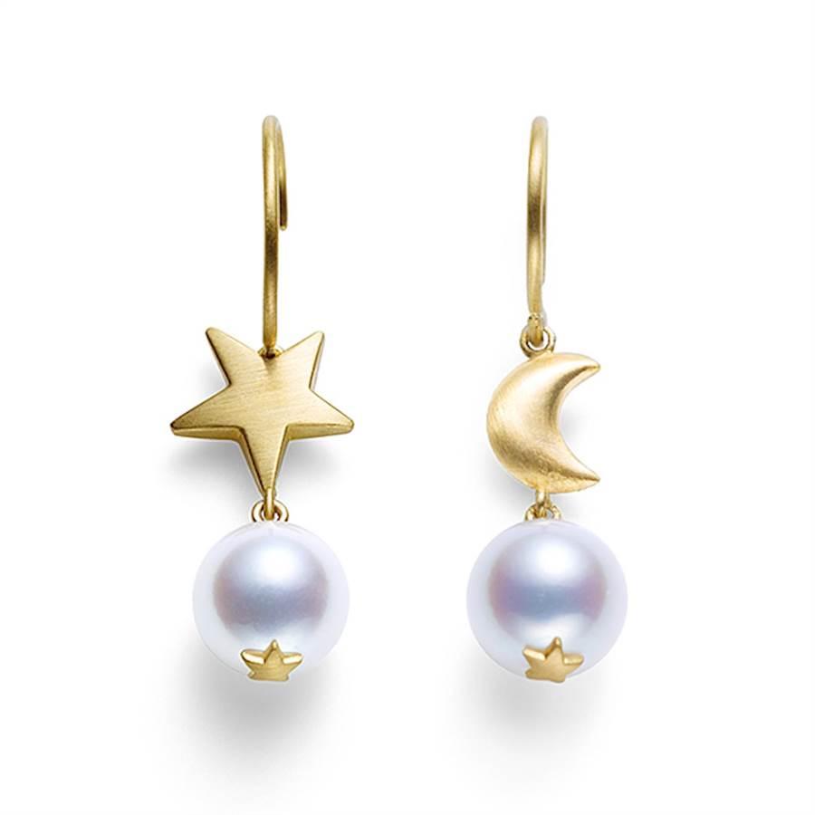 TASAKI白色珍珠飾品與婚紗超速配,是絕不出錯的選擇。(TASAKI提供)