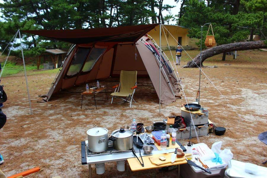阿久根無人島露營。(KKday 提供)