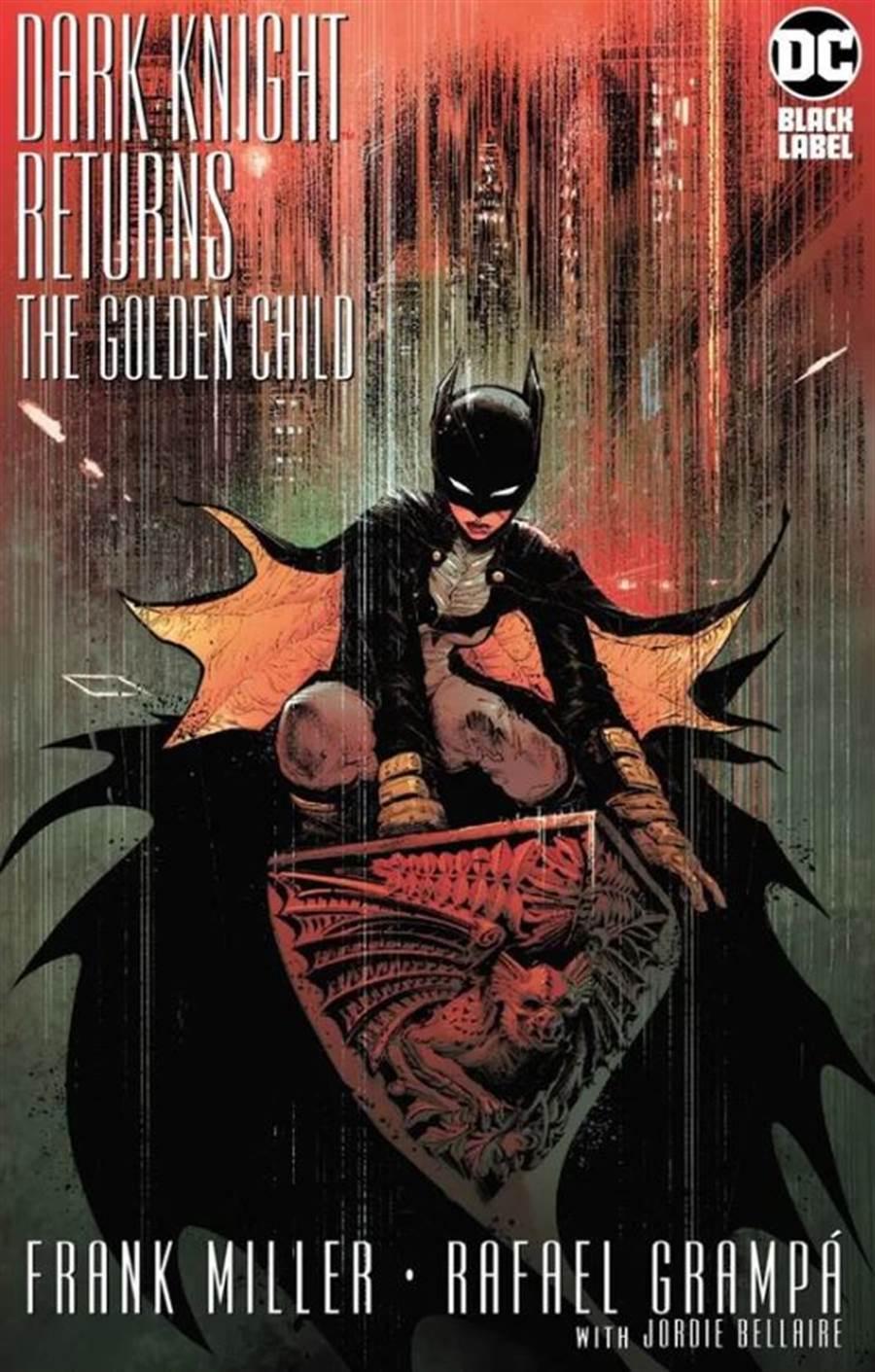 即將出版的「黑暗騎士歸來:金童」,凱莉是蝙蝠女俠。(圖/DC Comic)