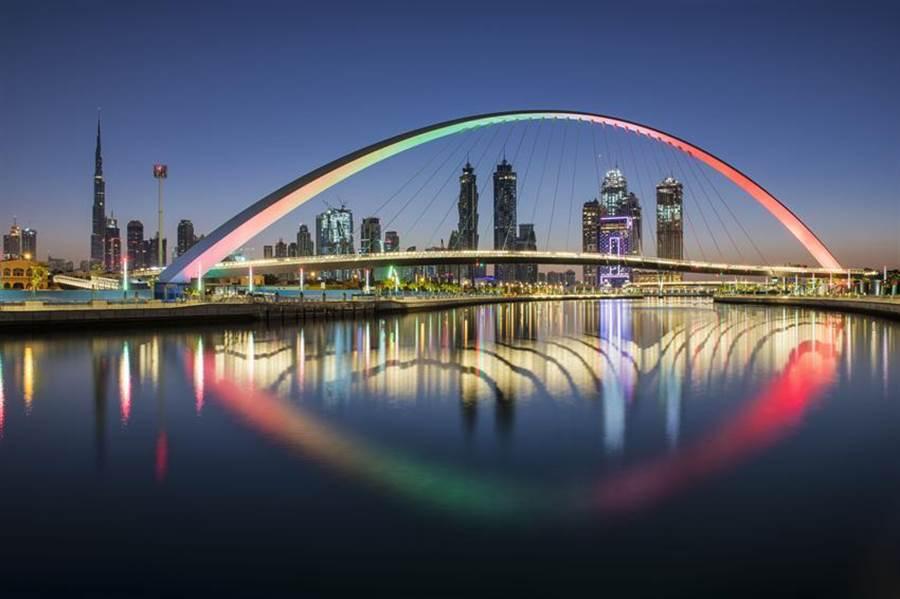 杜拜城市美景。圖/業者提供