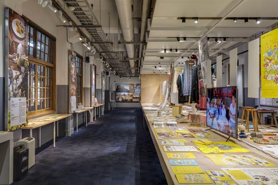 「設計改變社會-神戶的創造力 Design Changes Society- KOBE」展場一隅。(台創提供)