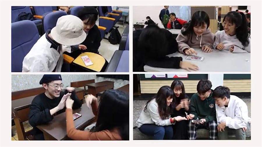 """輔大廣告系學生打造一款新型手機遊戲—""""同志友善大富翁"""",讓人們能夠透過簡單的遊戲方式認識台灣的多元友善。(圖片擷取自潮台灣影片)"""