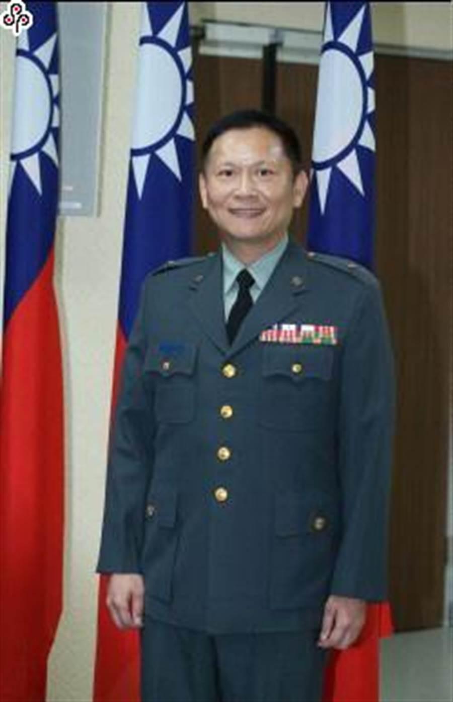 國防部軍事發言人史順文。陳怡誠攝