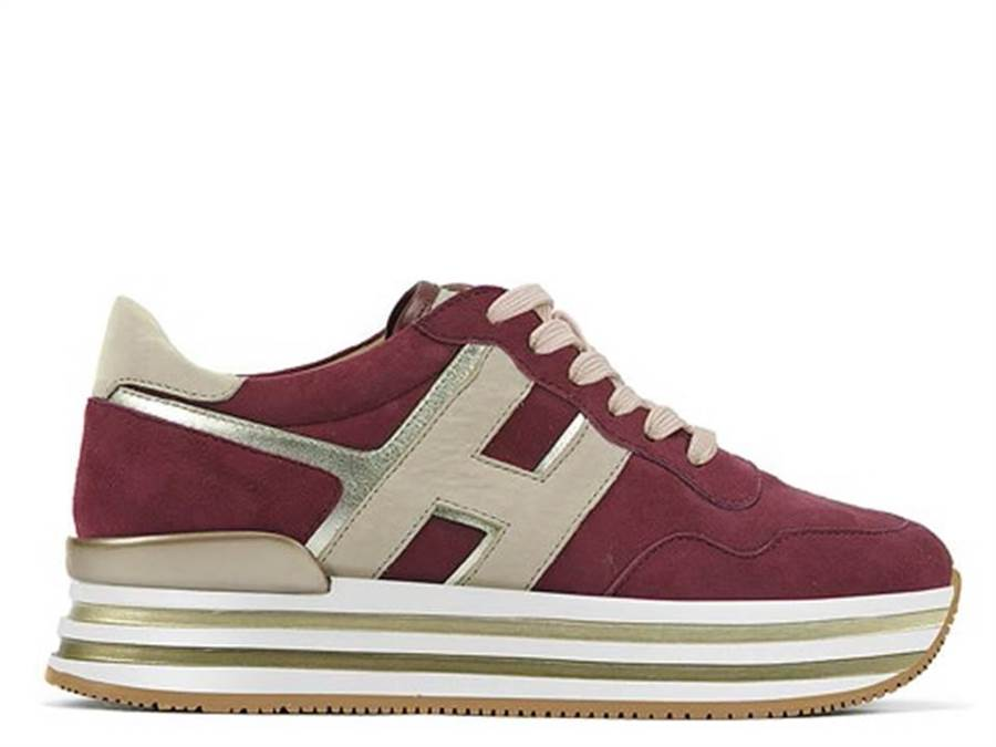 HOGAN H483羊皮女士休閒鞋,1萬8900元。(HOGAN提供)