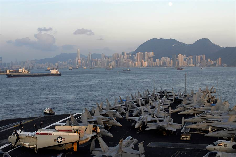 在美國通過香港人權民主法之後,不少人就猜測,大陸可能會禁止美艦再訪問香港。(圖/美國海軍)