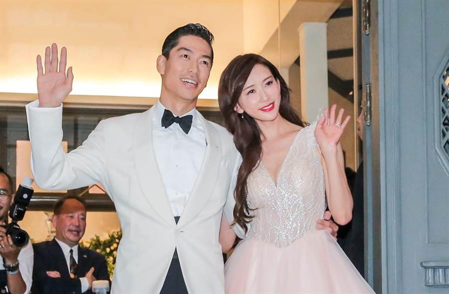 林志玲、Akira上月在台南舉辦婚禮。(圖/中時資料照)
