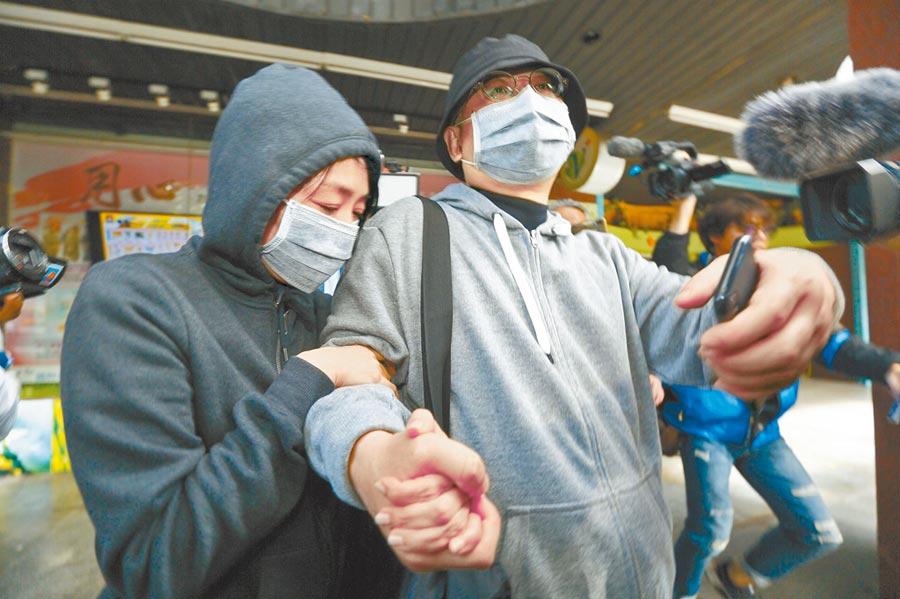 中國創新投資公司主席向心(右)、龔青(左)夫婦涉諜報案,11月27日遭台北地檢署二度傳喚。(本報系資料照片)