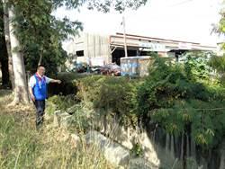市議員蔡育輝爭取5年 新營大排加蓋闢路顧機車族安全