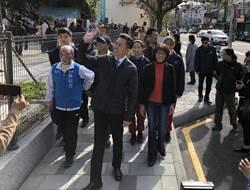 育賢國中64年來第1座通學步道啟用