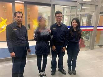 最棒國民外交 中和警替日籍遊客找回遺失錢包