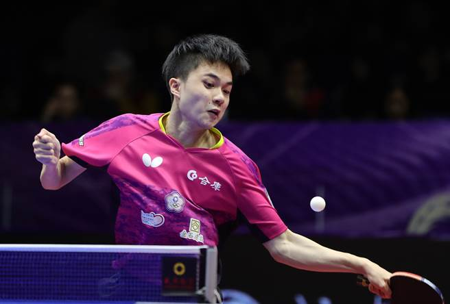 林昀儒率領中華隊在世界團體賽/東奧資格賽32強賽直落三點輕取泰國,接下來只要在16強賽擊敗波蘭就能順利取得奧運入場券。(資料照/新華社)