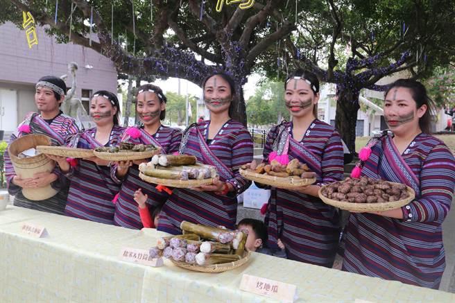 「原鄉原民葫蘆墩」宣傳記者會端出原民特色美食