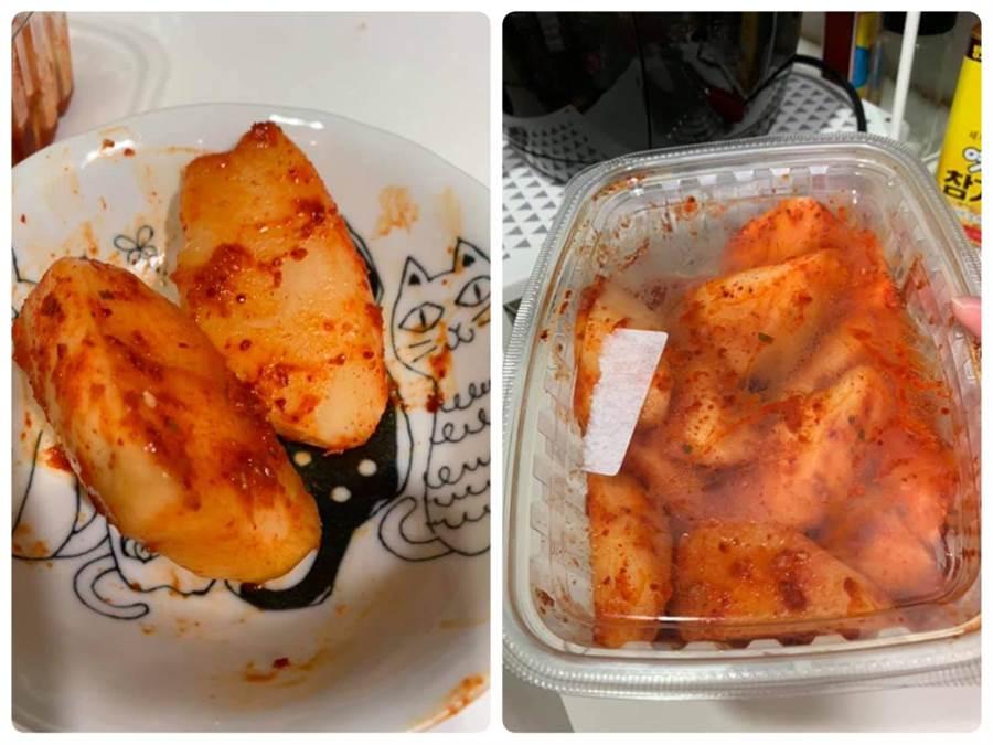這款好市多涮嘴小菜,引來網友讚爆,很涮嘴,已回購N次。(圖/翻攝自臉書社團《Costco好市多商品經驗老實說》)