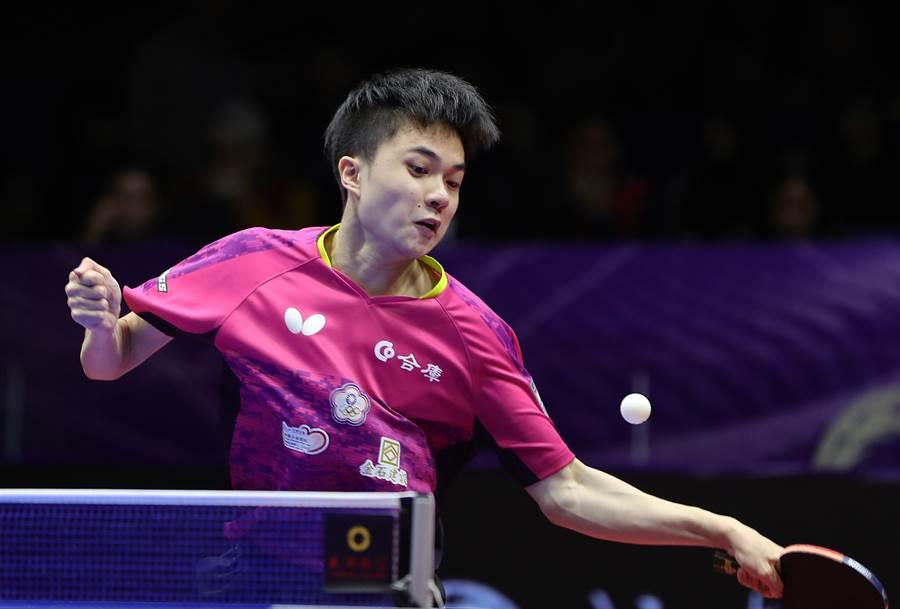 寶島18歲桌球好手林昀儒被國際桌總官網編輯撰文稱讚是新一代黃金左手。(資料照/新華社)