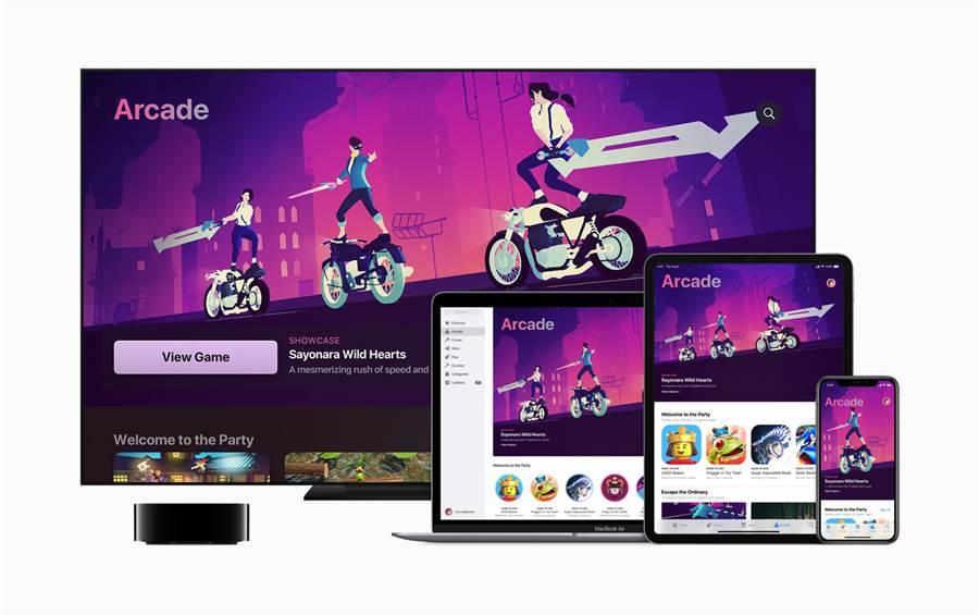 蘋果今年首度選出Apple Arcade 2019年度最佳遊戲。(摘自蘋果官網)