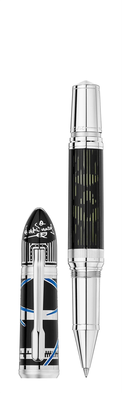 萬寶龍著名人物系列華特迪士尼限量款1901鋼珠筆,10萬2200元。(Montblanc提供)
