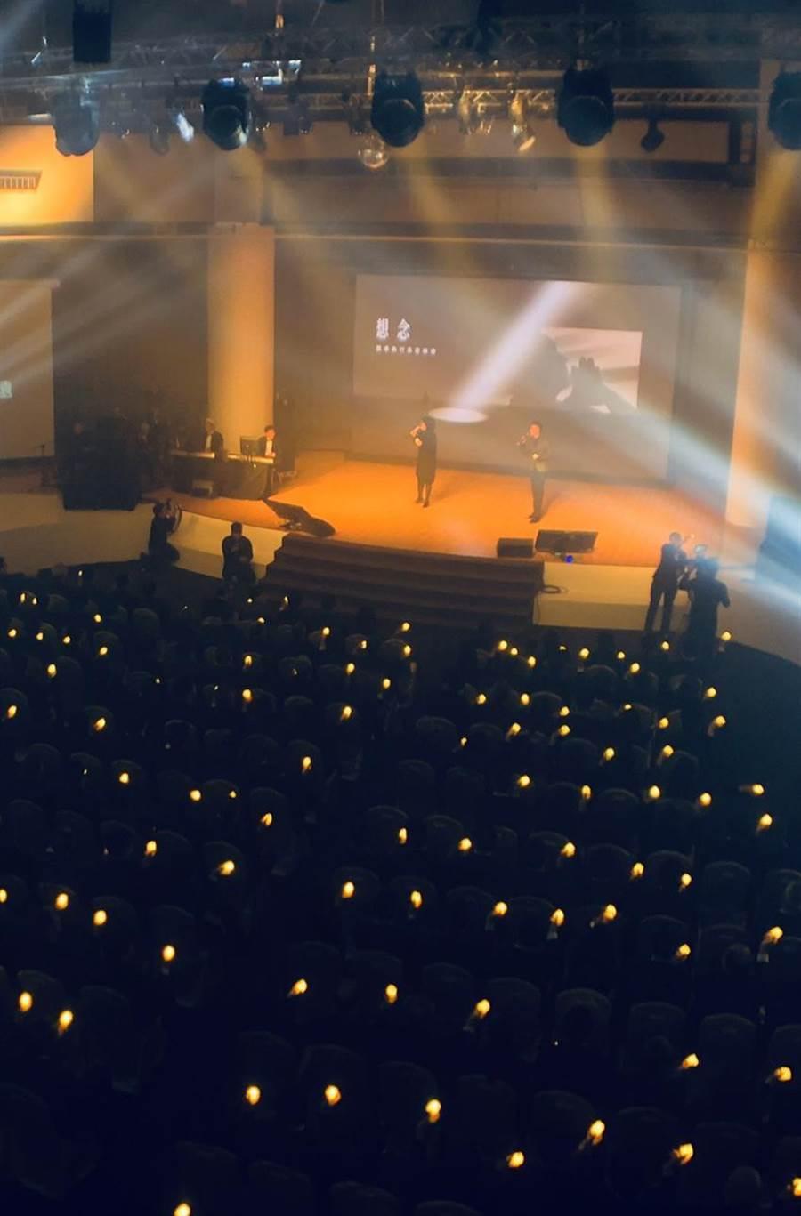 (裕隆集團前執行長嚴凱泰逝世周年,裕隆集團內部舉辦懷念音樂會追思。圖/業者提供)