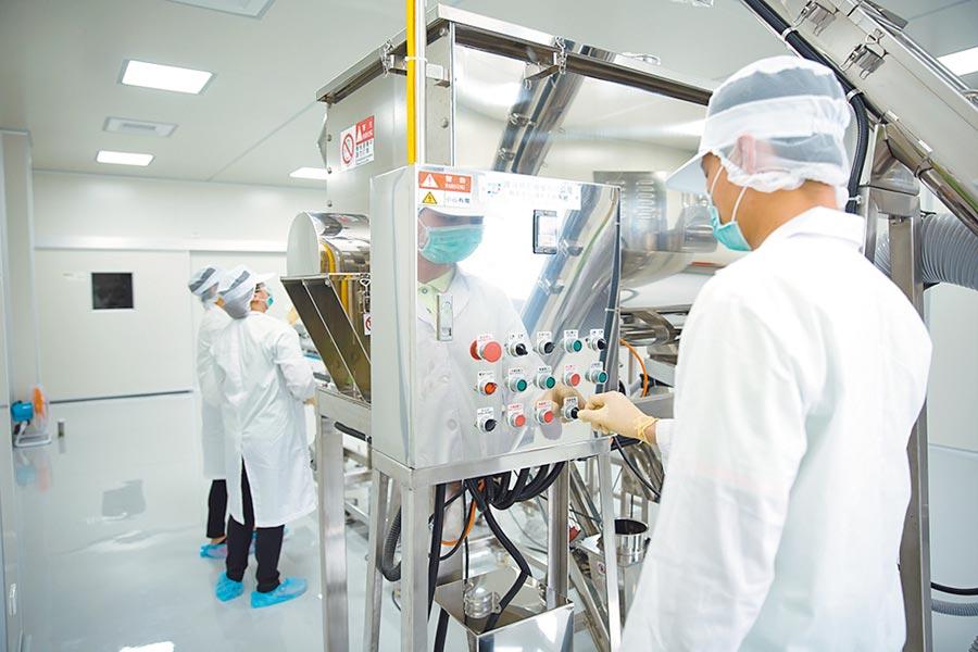 達邦蛋白新建大陸漳州廠第一條線於十月投產,產能達1,200噸,預計明年擴建第二及第三條,屆時產能邁向3,600噸,相當於台灣廠產能。圖/公司提供