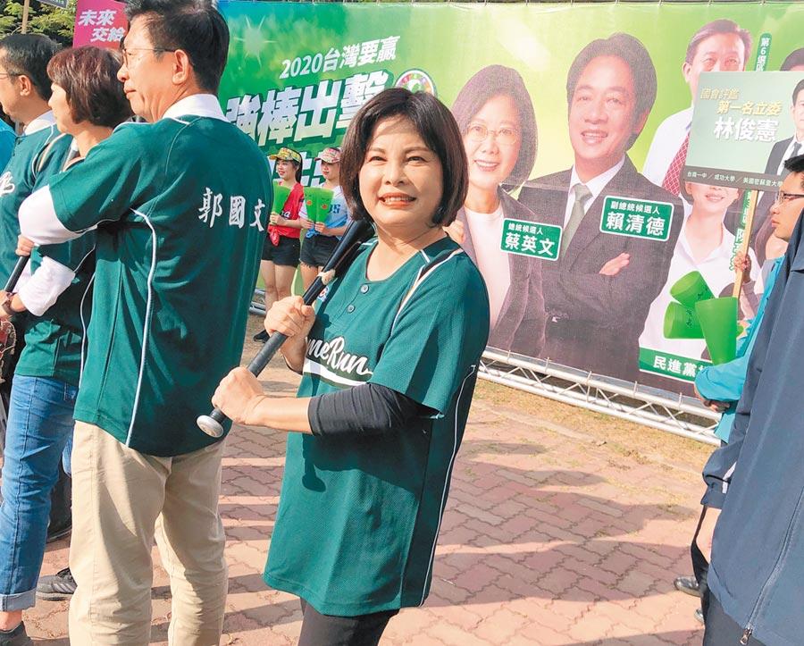 台南市立委第一選區共有7人登記參選,民進黨參選人賴惠員力求延續綠營自2008年以來在此區不敗紀錄。(賴惠員競選總部提供/莊曜聰台南傳真)