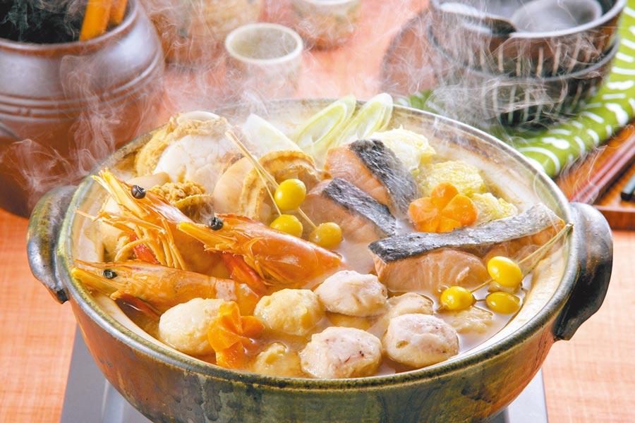 冷空氣報到,氣溫驟降,吃個熱騰騰的火鍋,禦寒又暖胃。(CFP)
