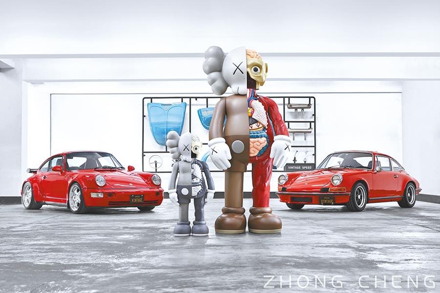 Porsche與KAWS火花不斷 揭幕中誠秋拍