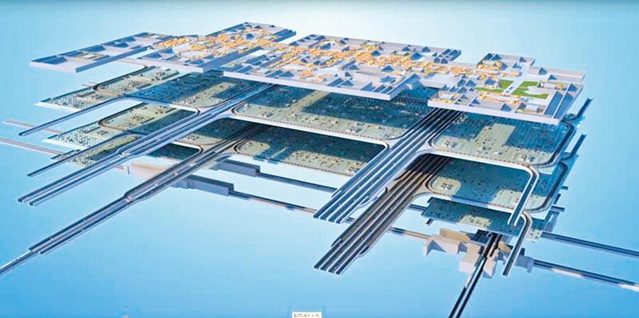 城市倒影設計圖。