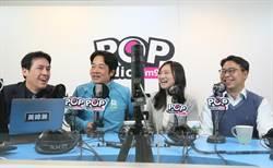 賴清德:韓國瑜當選總統困難 因為他已不是庶民