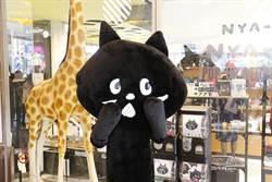 人氣黑貓NYA-來了 新光三越南西店全台獨家快閃