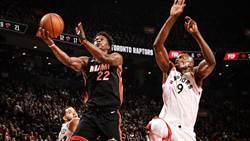NBA》吉米巴特勒大三元 熱火斷暴龍主場9連勝