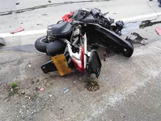 重機轉彎失控 滑入貨車底慘遭輾壓亡