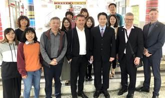 澳洲伊普斯威奇市議長與暨大附中師生 完成友善國際交流