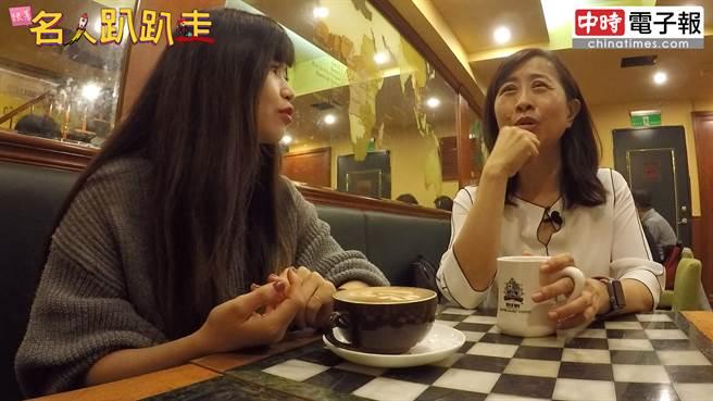 烘焙者咖啡是一間找人聊天很好的地方。