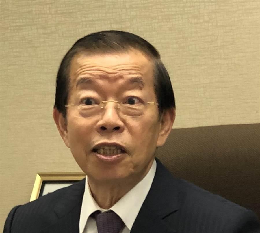 駐日代表謝長廷。(圖/本報資料照,黃菁菁攝)