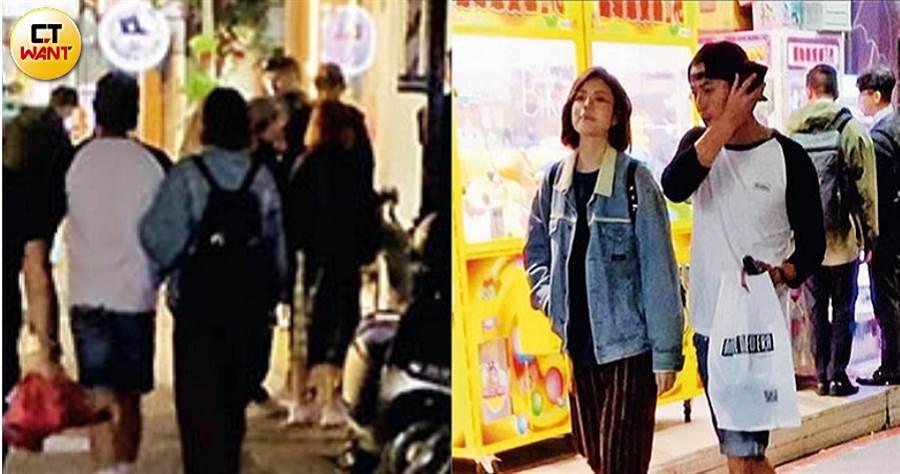 在臉書放話「要出門交女朋友」的趙駿亞,隔天就被本刊直擊和短髮正妹約會。(圖/本刊攝影組)