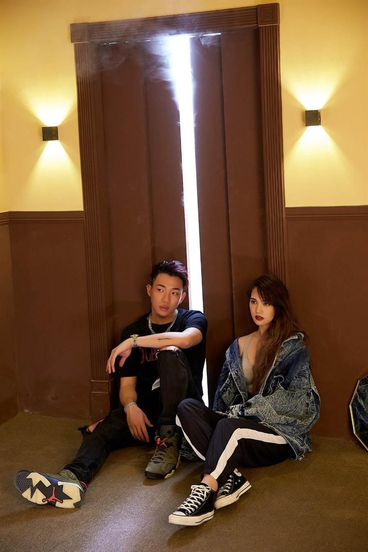 楊丞琳新歌〈Love is Love〉邀請金曲新人王ØZI創作、製作與拍攝MV。(環球提供)