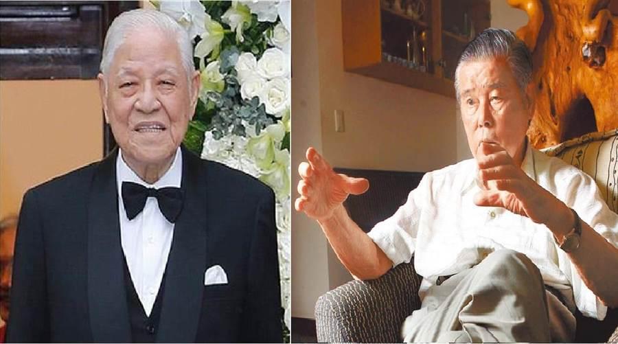 前總統李登輝(左)、擔任前總統李登輝兩岸密使的曾永賢(右)。(圖/合成圖,本報資料照)