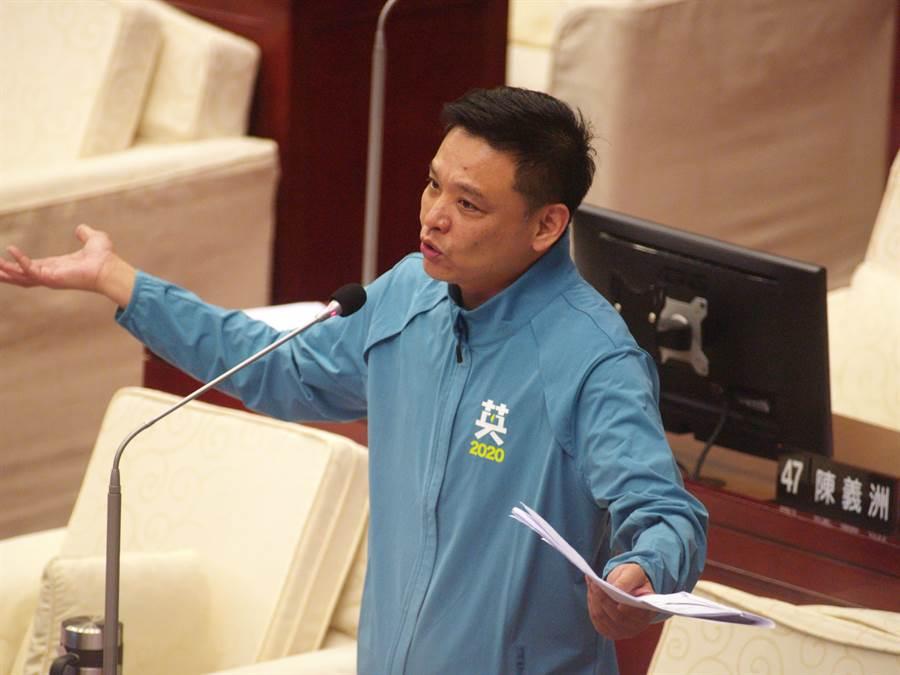 台北市議員洪健益澄清自己並非楊蕙如的門神,更和「謝系議員」扯不上關聯。(本報資料照片)