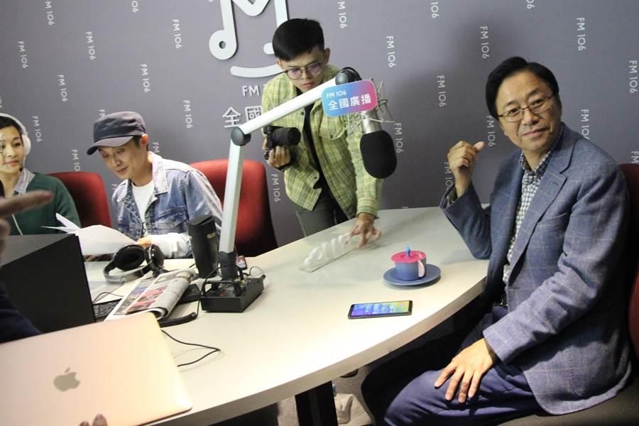 對「卡神」楊蕙如網軍案,國民黨副總統參選人張善政表示:「相當心寒」。(陳淑芬攝)