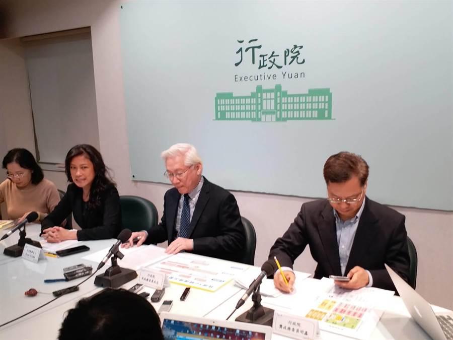 龔明鑫(右一 )指政院要求經濟部不能缺電(張理國攝)