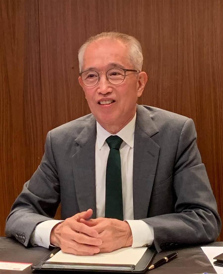 嘉里大榮董事長沈宗桂4日在法說會表示,公司將射出五箭擴大成長動能。圖/嘉里大榮