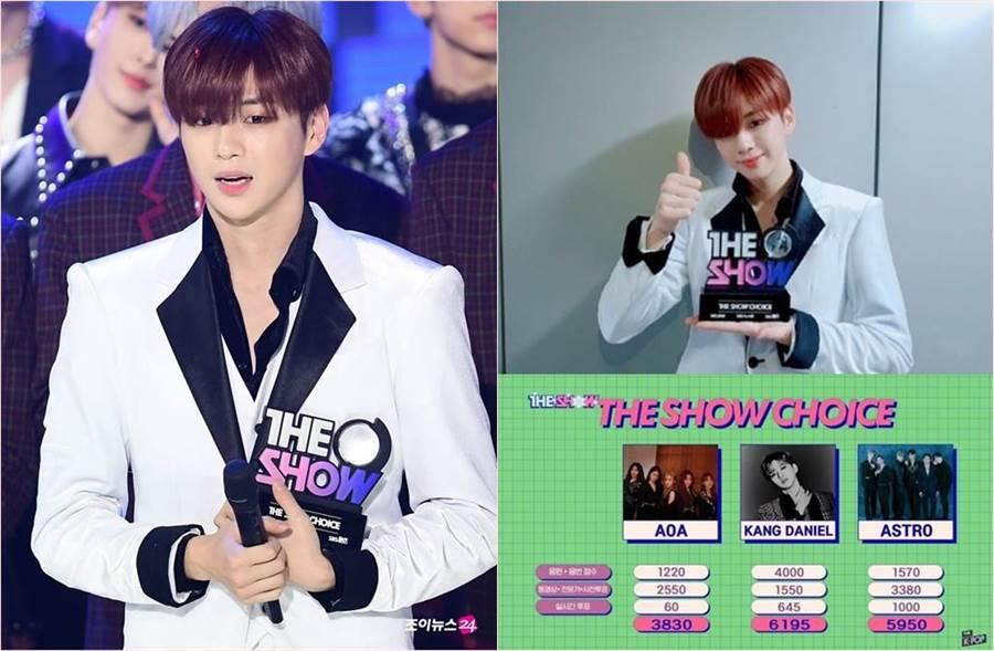姜丹尼爾昨(3)日上了韓國音樂節目《The Show》拿下冠軍,沒想到卻引來黑箱疑雲。(圖/翻攝自姜丹尼爾粉絲團)