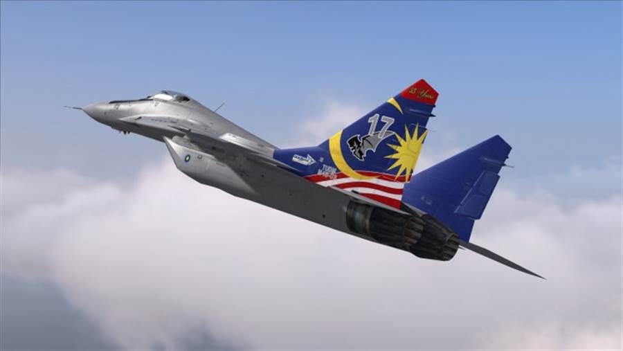 馬來西亞空軍的MiG-29已不堪使用,俄國提出舊機(MiG-29)換新機(MiG-35)的方案,但馬來西亞擔心會遭到美國制裁。(圖/馬來西亞空軍)