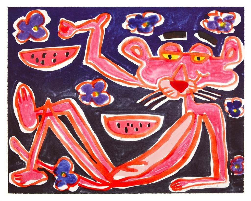 近年在藝術圈頗富盛名的凱瑟琳·伯恩哈特,作品將於明年初ONE ART Taipei展亮相台灣。(ONE ART Taipei提供/李怡芸台北傳真)