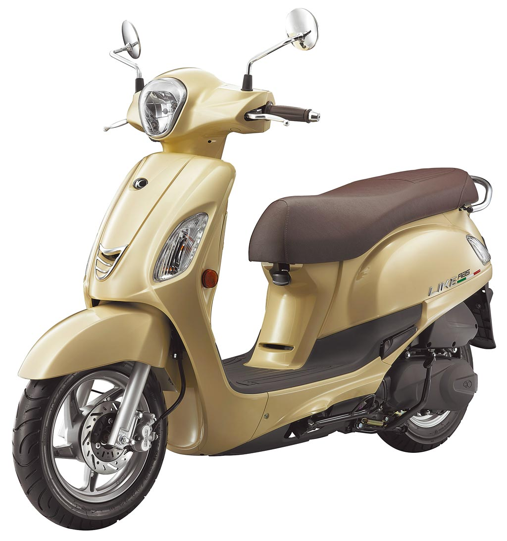 七期KYMCO LIKE 125售價7萬2000元起。(KYMCO提供)