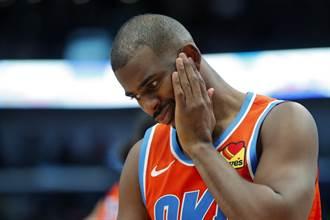 NBA》沒人願接手保羅毒約 雷霆傷透腦筋